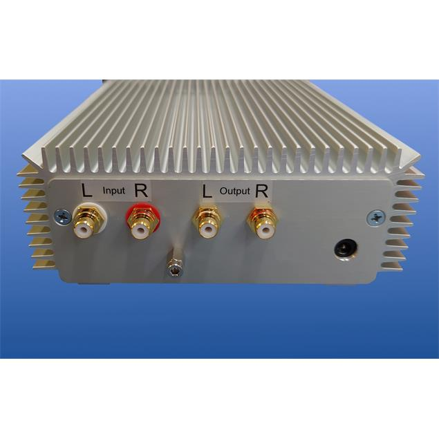 Transrotor PHONO II - phono preamplifier (MM/MC / massive aluminum housing with chrome front panel)