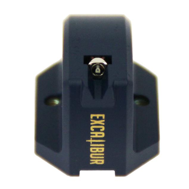 Excalibur Blue - MC cartridge system for record players (blue / synthetic diamond with symmetrical elliptical stylus type / low output / moving coil)