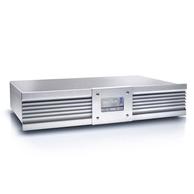 IsoTek EVO 3 Aquarius EU - mains filter (silver / incl. EVO3 Premier - power cord with EU Premier on C19 / blue / 1.5 m)