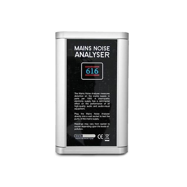 IsoTek Blue Horizon - Mains Noise Analyzer (230V / Version: G = Germany / meter for disturbances in the electricity network or power grid)