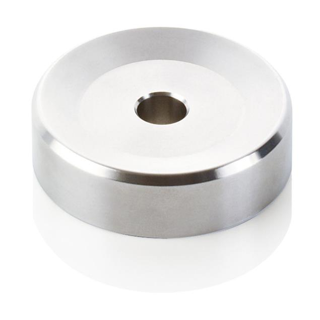 Clearaudio Single puck - record adaptor (for 45s singles with a large center hole / made of stainless steel)