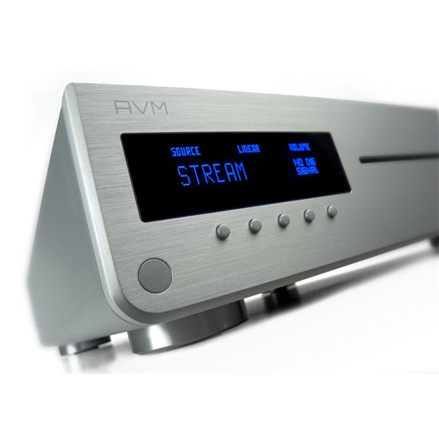 AVM INSPIRATION CS2.2 - all-in-one device (streaming / CD receiver / 2 x 165 Watts / silver)