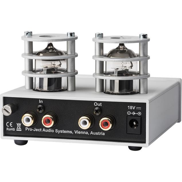 Pro-Ject Tube Box S2 - tube phono preamplifier (MM/MC / silver)