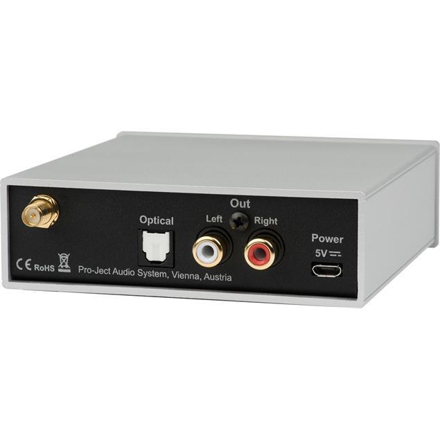 Pro-Ject Bluetooth Box S2 - audiophile Bluetooth audio receiver with aptX (supports aptX & SBC Bluetooth codec / black)