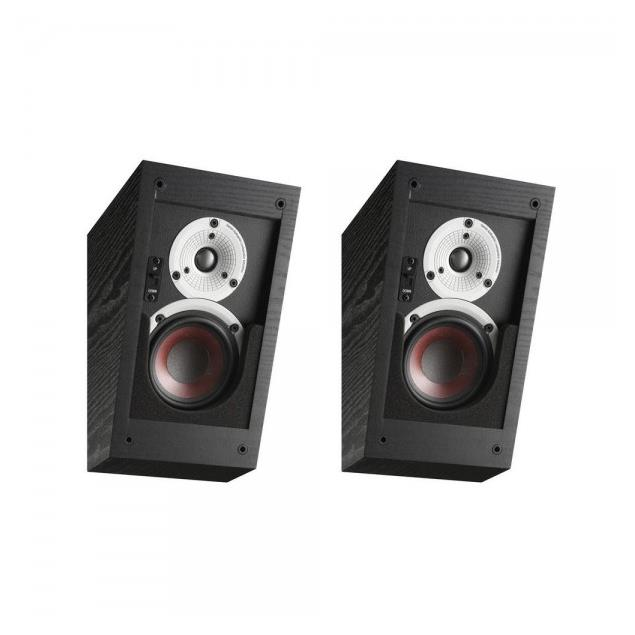 DALI Alteco C-1 - multi-purpose speakers (black ash / ideal for Dolby Atmos and Auro-3D / wall and ceiling mounting / 1 pair)