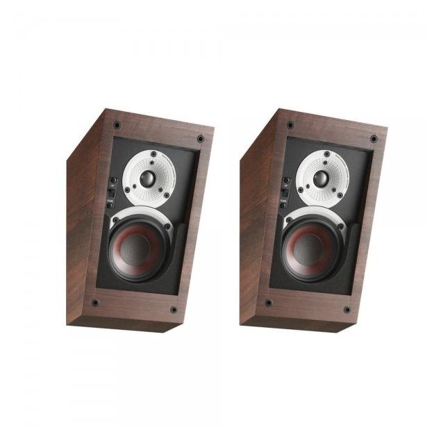DALI Alteco C-1 - multi-purpose speakers (walnut / ideal for Dolby Atmos and Auro-3D / wall and ceiling mounting / 1 pair)