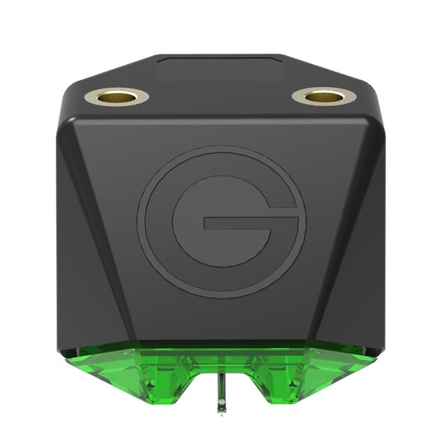 GOLDRING E2 Green - MM cartridge system for record players (needle carrier made of aluminum with spherical needle / for medium to heavy tonearms / MM / green)