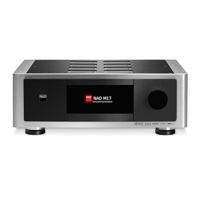 NAD M17 - 7.1 AV processor preamplifier (Masters series / surround pre-stage / incl. system remote control HTRM2) - exhibitor in very good condition
