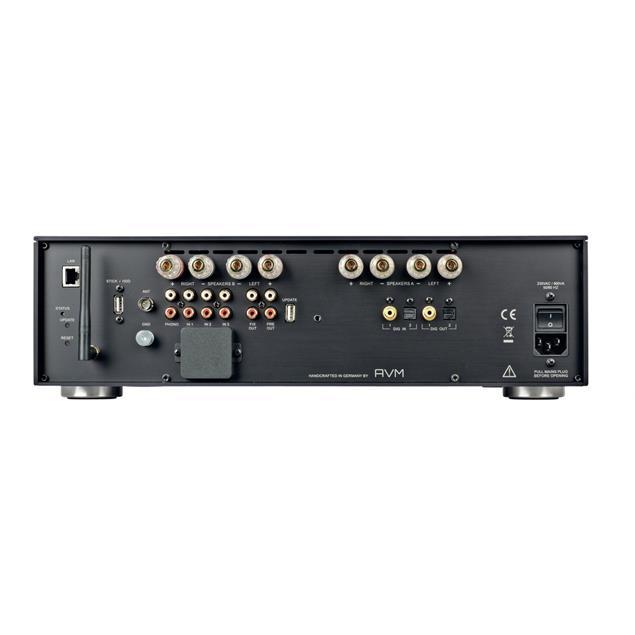 AVM EVOLUTION CS5.2 - all-in-one device (streaming / CD receiver / 2 x 330 Watt / silver)