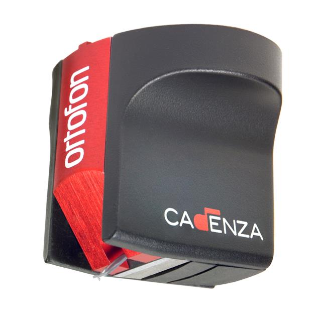 Ortofon MC Cadenza Red - MC cartridge for turntables (black/red / Low-Output Moving-Coil / for moderate tonearm)