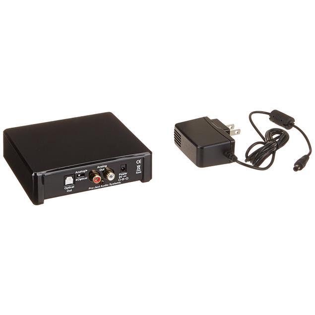 Pro-Ject Bluetooth Box E - High Fidelity Bluetooth Audioempfänger (unterstützt aptX & SBC Bluetooth Codecs / schwarz)