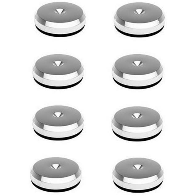 Goldkabel AS-40708 Disc - flat washers (8 pieces / 30 mm diameter / silver)