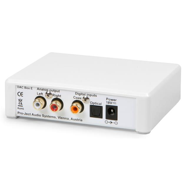 Pro-Ject  DAC Box E - digital/analog converter (white)