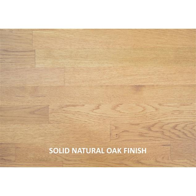 Atacama APOLLO - CYCLONE 6 - high-quality loudspeaker stands (615 mm / black & base plate made from light solid oak / incl. spikes / 1 pair)
