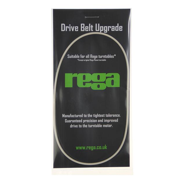 Rega precision drive belt for record players (for the models P1 - P9, RP1 - RP6 incl. RP3 + RP8 + RP10 / white)