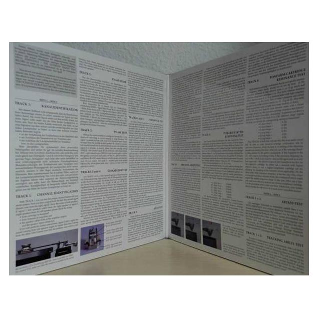 imagehifi Vinyl Essentials - The Ultimate Pickup Test Record - LP (180 gram vinyl / Gatefold LP / 8 tracks / Image Hifi LP 003)