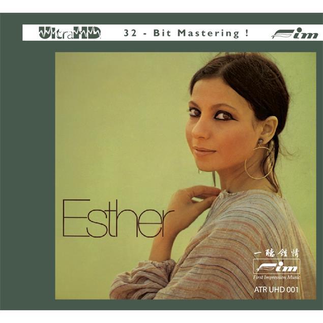 Sieveking Sound Esther Ofarim: Esther - UHD-CD (Audio UHD-CD / digipack / ATR-UltraHD Compact Disc / Ultra-HD 32-Bit Mastering / 12 tracks / new & sealed / ATR UHD 001)