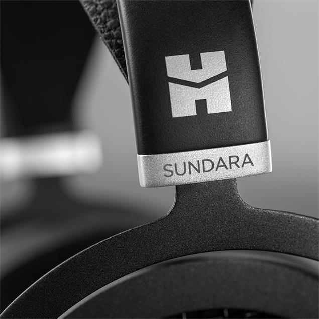 HiFiMAN SUNDARA - open magnetostatic headphones (high end premium headphones / incl. interchangeable connection cables / black)