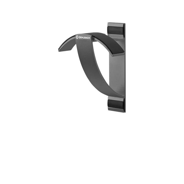 Oehlbach 35410 - Alu Style W1 - wall bracket for headphones (anthracite)