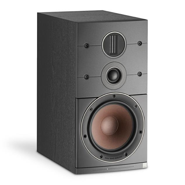 DALI Callisto 2 C - 2.5 ways active compact speaker (max. 250 Watts RMS / black ash / 1 piece)