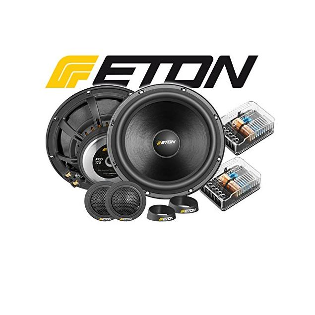 "Eton PRO 175 - 2-way compo loudspeaker system (70 W RMS / 100 W max. / 2 x 6.5"" woofer / 2 x 25 mm tweeter / incl. crossover)"