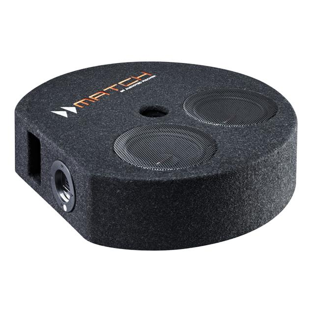MATCH PP 7S-D - subwoofer (16.5 cm / 200 Watts RMS / 400 Watts max / black)