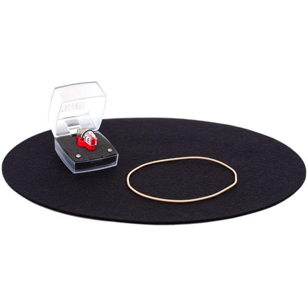 Rega Performance Pack - Upgrade Set for REGA turntables RP1, P1, P2 (Bias-2 MM / drive belt / turntable mat)