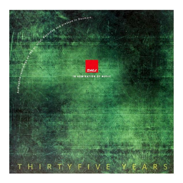 DALI The DALI LP 2 - Thirtyfive Years (Vol. 5) - various artists - double-LP (2 x 180 gram vinyl / gatefold LP / limited / 17 tracks / new & factory sealed)