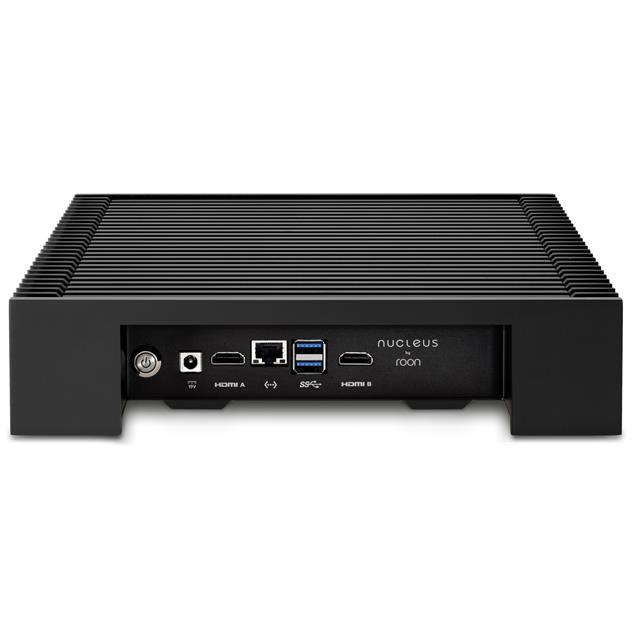 """ROON Nucleus+ (Rev B) - music server (8GB RAM / 128GB SSD / internal 2,5"""" hard drive slot / 2x HDMI / multi-room up to 6 zones / anodized surface)"""