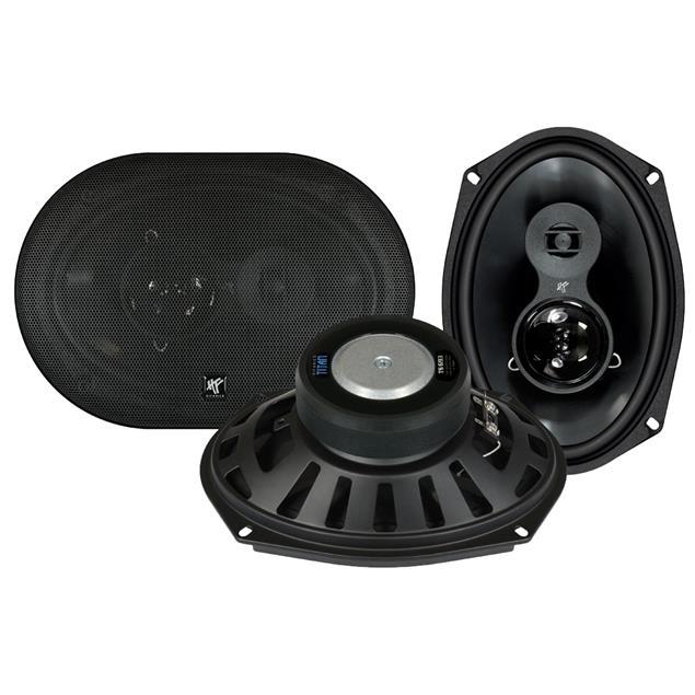 HiFonics TS693 - 3-way triaxial speakers (TITAN series / 16x23 cm / 125W/RMS / 250 W/MAX)
