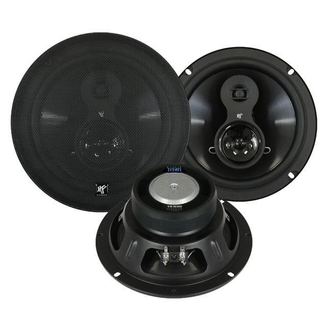 HiFonics TS830 - 3-way triaxial speakers (TITAN series / 20 cm / 125W/RMS / 250 W/MAX)