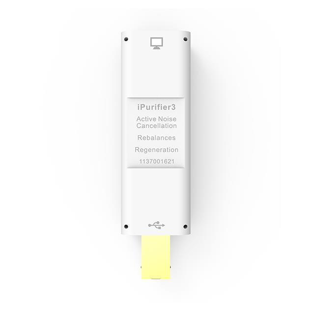 iFi-Audio iPurifier3 - audio filter (USB A to USB B / 6.9 cm / light grey)