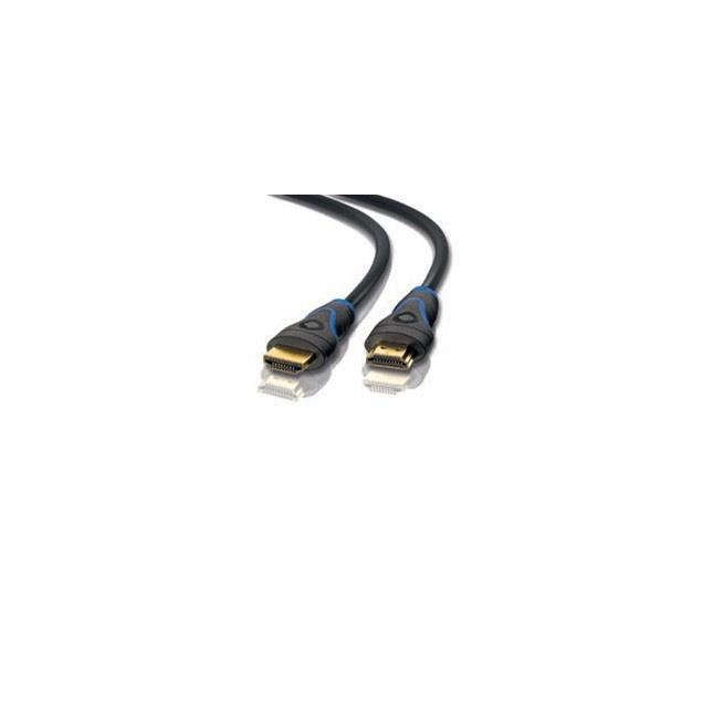 Oehlbach 34005 - Screen Magic Plus - High-Speed-HDMI®-Cable with Ethernet (1.20 m / black/blue)