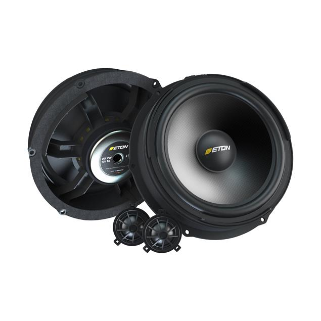 Eton UG VW T6 F2.1 - 2-way loudspeaker front system for VW T6 (120 Watts / 2 x 200 mm woofer / 2 x 28 mm tweeter / 120 Watts / incl. crossover)