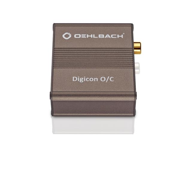 Oehlbach 6037 - Digicon O/C - Digital optical-electrical audio converter (24 bit / metallic brown)