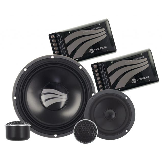 RAINBOW GL-C6.3 - 3-way loudspeaker compo set (Germanium Line / 120 Watts RMS / 180 Watts MAX)