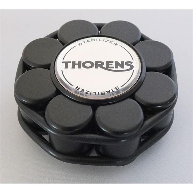 THORENS stabilizer - record load-bearing weight (for record players / in black / delivered in a wooden box)