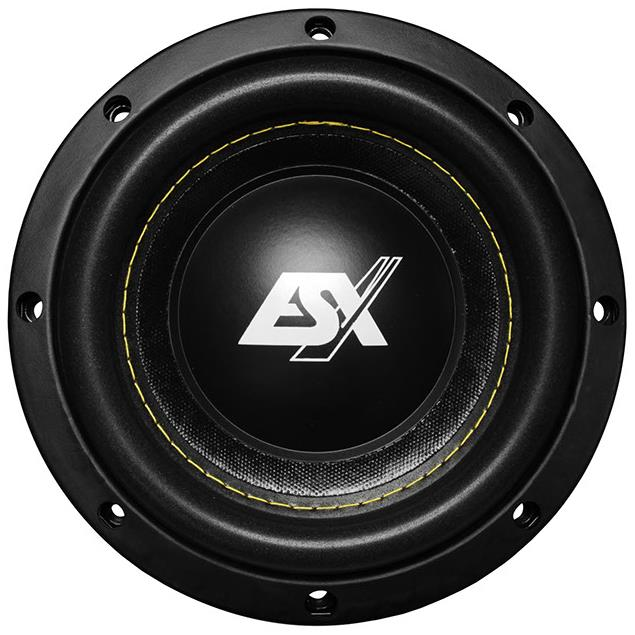 ESX QE622 - subwoofer (16cm/6inch / 250 Watts RMS / 500 Watts max / 4 Ohms / 1 piece)