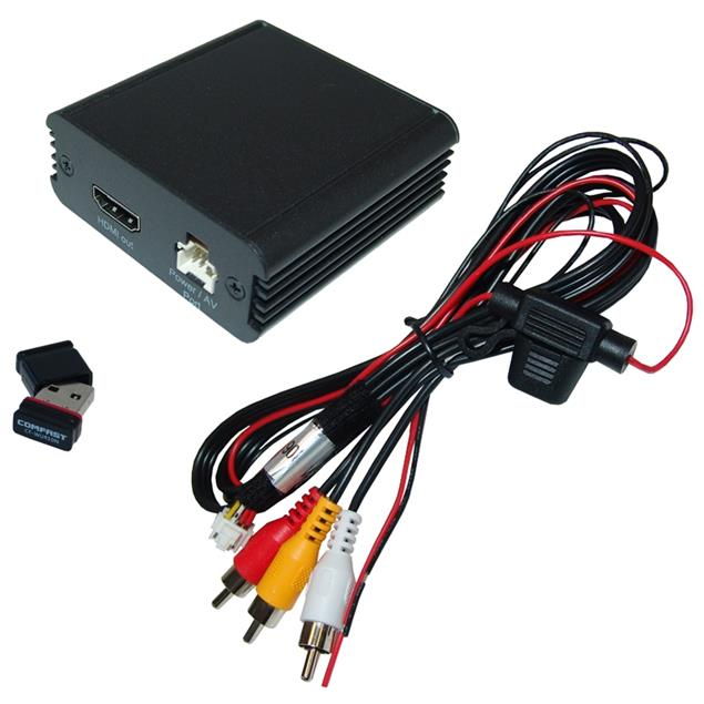 CAS MO-LINK - Mirroring Box (iOS AirPlay / Android Miracast / DLNA / Plug&Play / black)