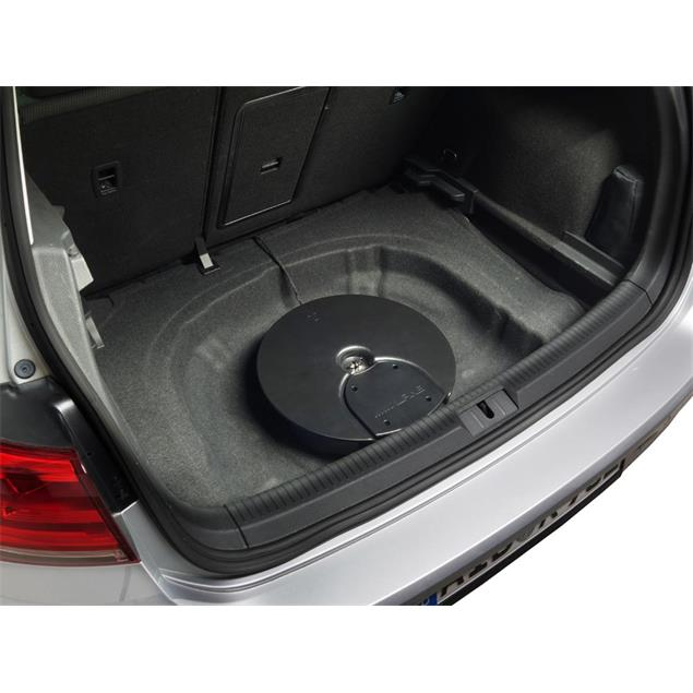 ALPINE SPC-600G7 - subwoofer system for VW Golf 6 and Golf 7 (Premium Sound Upgrade / 16.5 cm / 6.5 inch / 250 Watts RMS / incl. amp / incl. connection harness)