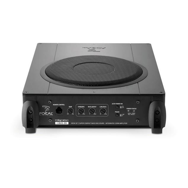 Focal IBUS 20 - flat active subwoofer (20 cm / 8 inch / 150 Watts max. / 75 Watts RMS / plug & play)