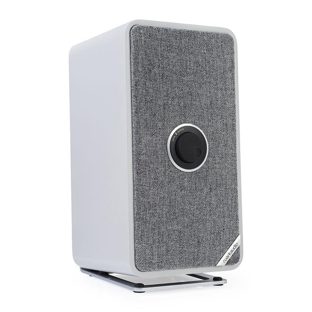 ruarkaudio MRx - connected wireless bluetooth loudspeaker (Bluetooth / 20 Watts / linear Class A-B Amplifier / Apt-x-Bluetooth / soft grey)