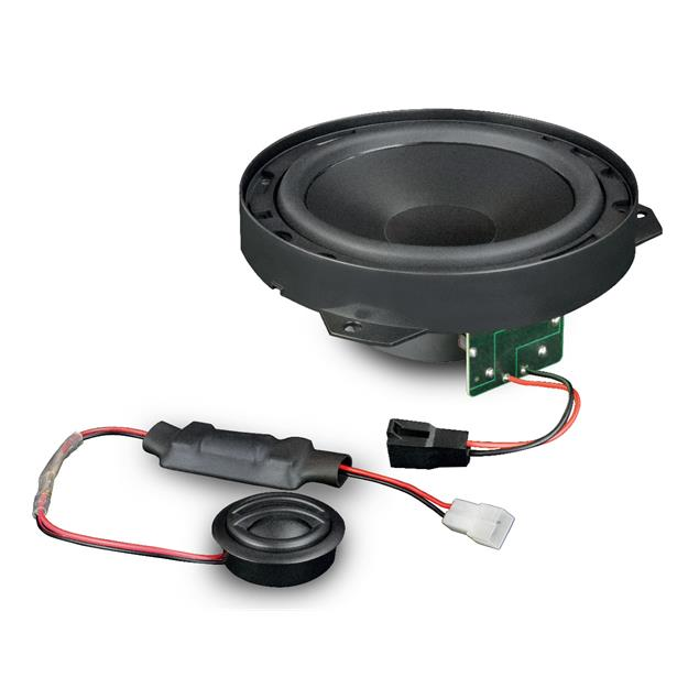 Axton ATC26-DUC - 2-way speaker component system (16.5 cm / 6.5 inch / 120 W / compatible with Fiat Ducato / incl. mounting ring)