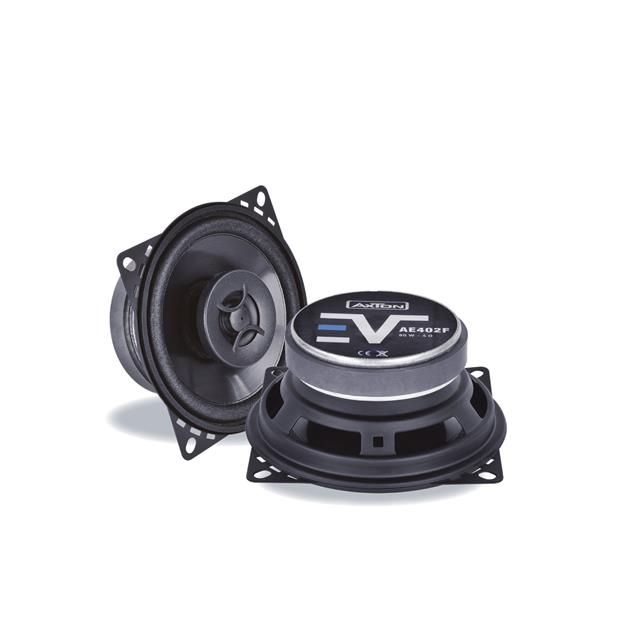 Axton AE402F - 2-way loudspeaker coaxial system (10 cm / 4 inch / 80 Watts nominal power handling / durable construction / part of the Evolution series)
