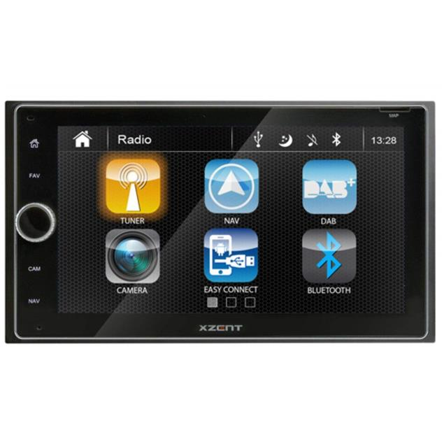 XZENT X-422 - 2-Din naviceiver (DAB+ / USB / BT / HDMI)