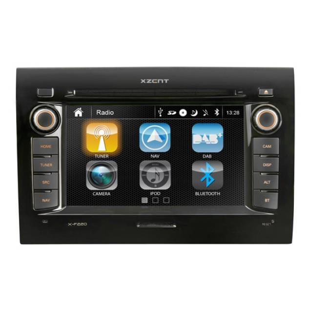 XZENT X-F220 - 2-Din naviceiver for Fiat Ducato (without software)