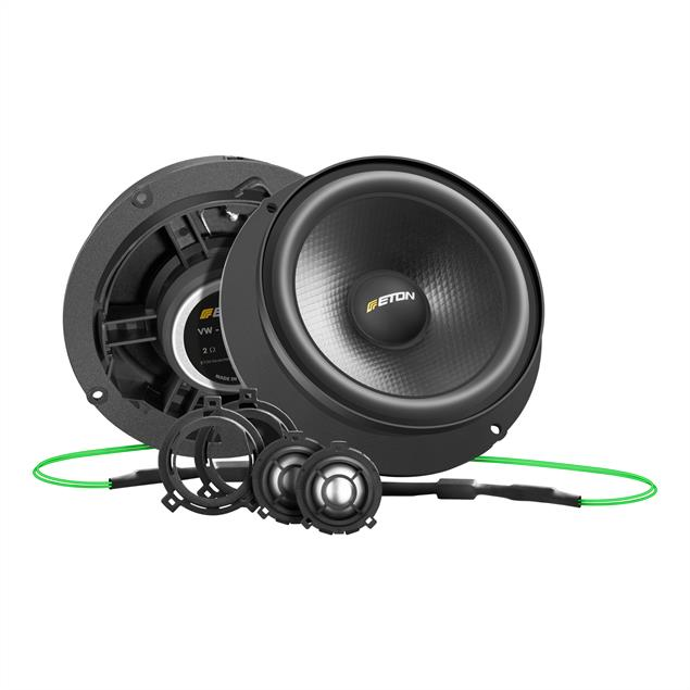 Eton UG VW Polo V F2.1 - 2-way speaker front system for VW Polo V 6R/6C (145 mm / 80 Watts / plug & play / customized crossovers)