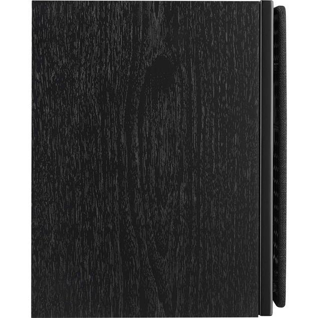 DALI Oberon 1 - 2-Way bass reflex bookshelf loudspeakers (25-100 Watts / black ash / 1 pair)