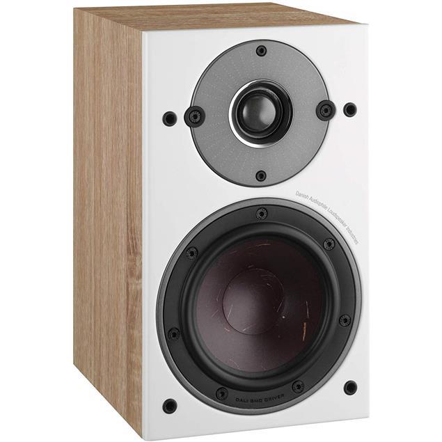 DALI Oberon 1 - 2-Way bass reflex bookshelf loudspeakers (25-100 Watts / light oak / 1 pair)