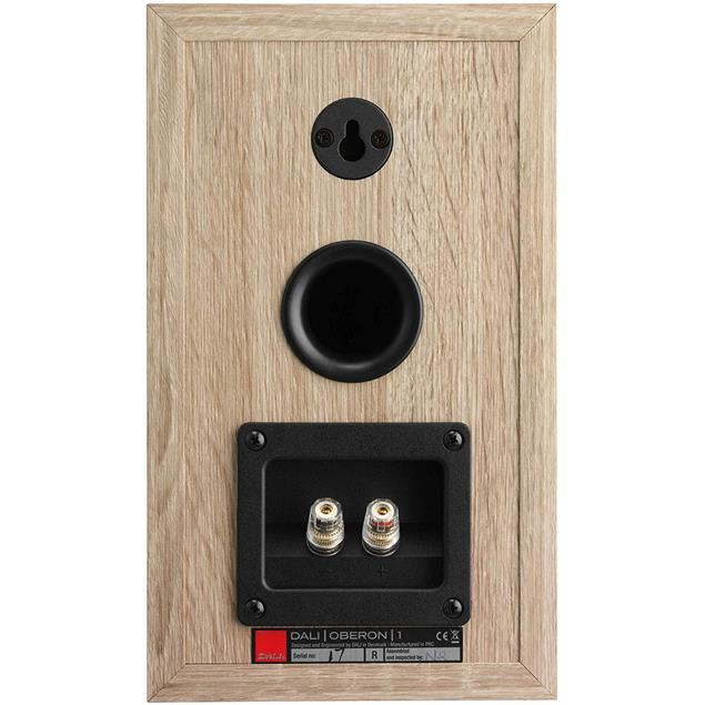 DALI Oberon 1 - 2-Way bass reflex bookshelf loudspeakers in light oak (1 pair)